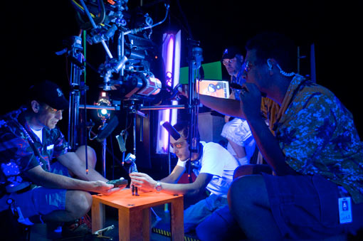 Behind the scenes of Coraline