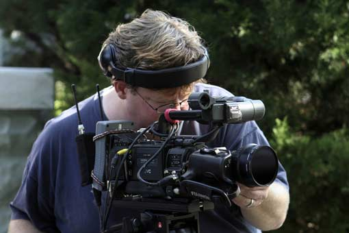 Chad Haufschild with the JVC GY-HD250U