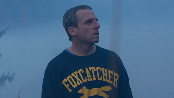 Steve Carell in <i>Foxcatcher</i>