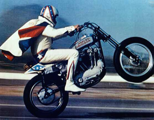 Evel Knievel, Courtesy of K&K Promotions