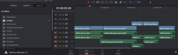 Fig 4 Audio Editor FX