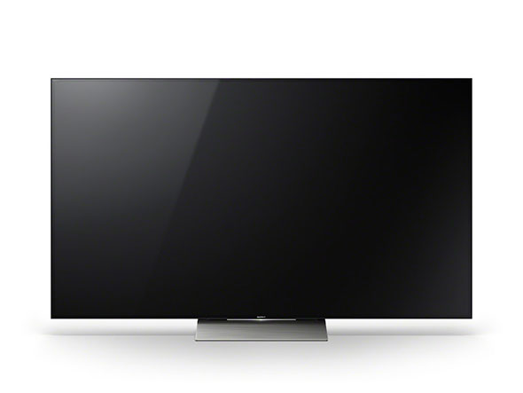 One of Sony's HDR-capable Ultra HD TVs announced at CES 2016