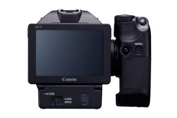 Canon XC10 back view