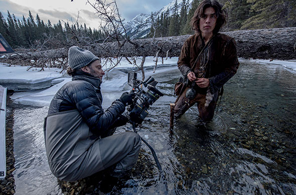 The Revenant on location