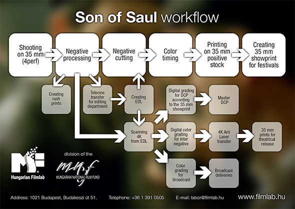 Son of Saul workflow
