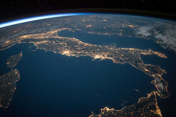 Italy aglow in the Imax film A Beautiful Planet