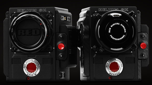 Red Super-35 Helium Cameras