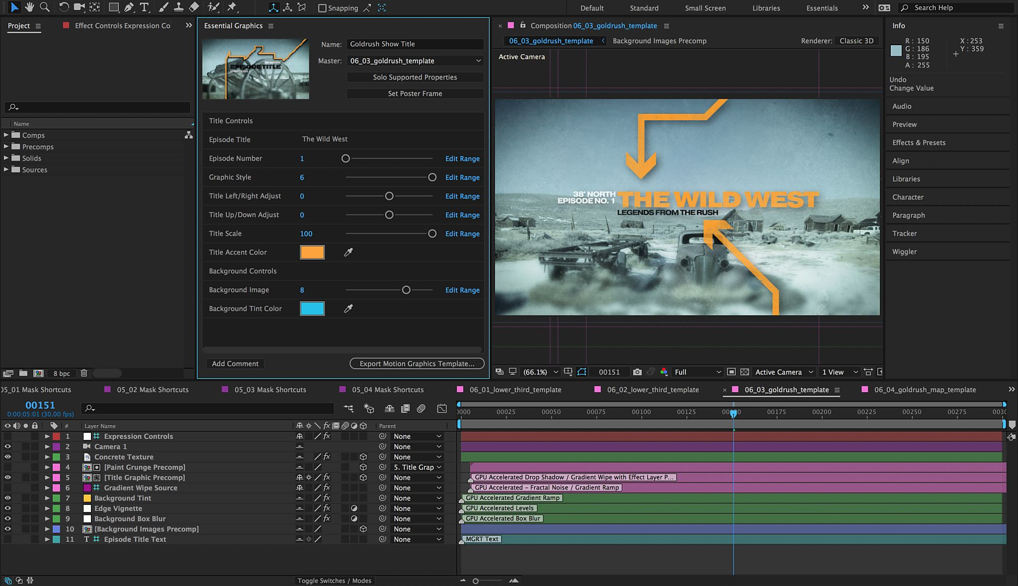 After Effects Cc 2017 User Manual
