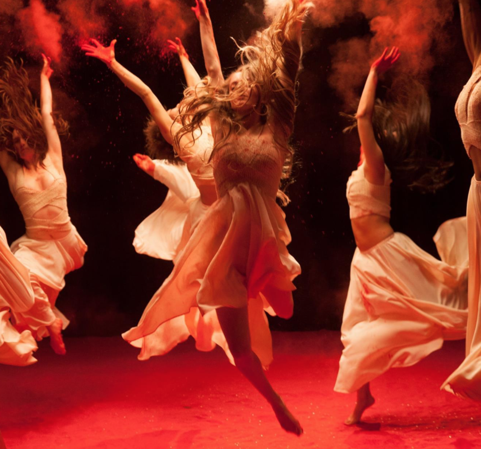 Unseen Dances was a collaboration with Molly Gochman's Red Sand Project.