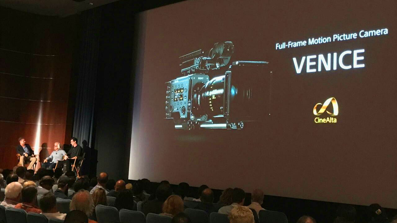"The Sony Venice debuted at a presentation with ""The Dig"" writer/director Joseph Kosinski and cinematographer Claudio Miranda, ASC"