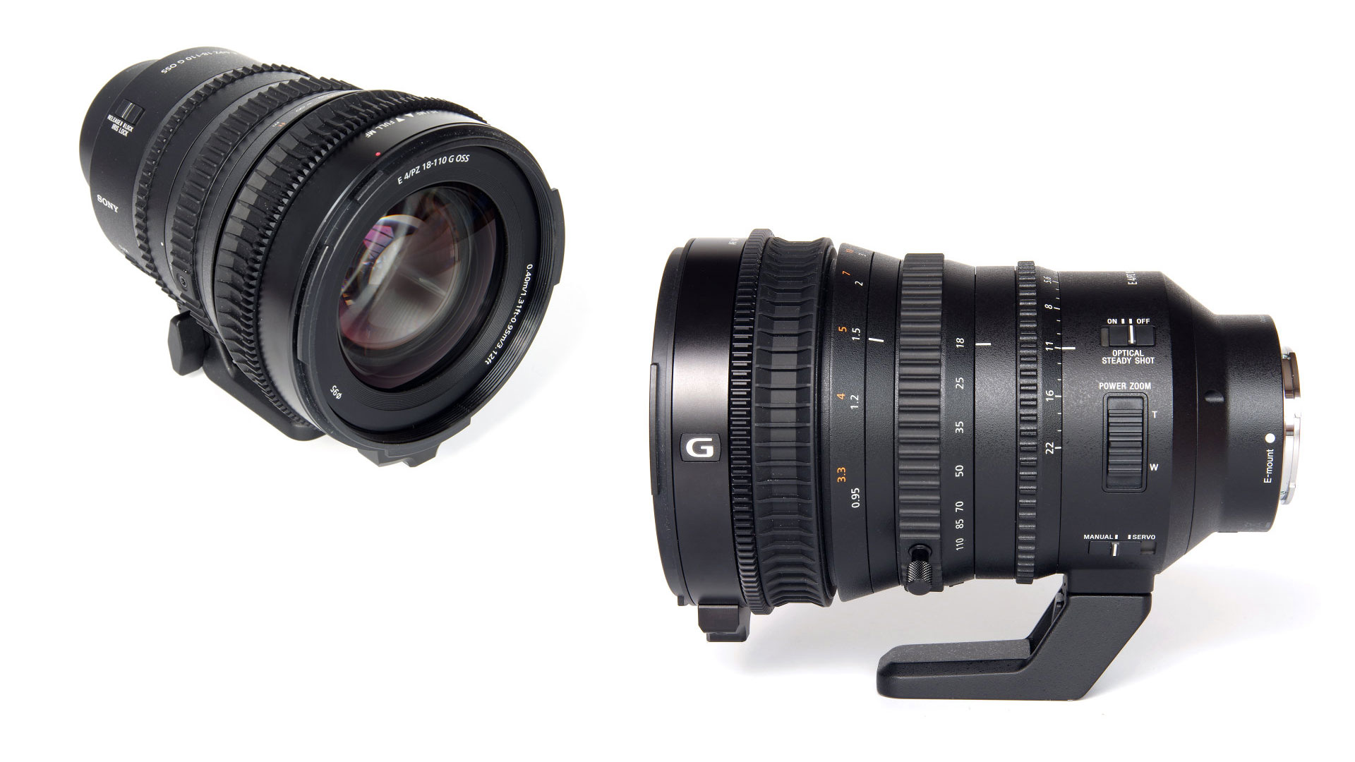Sony 18–110mm f4 zoom