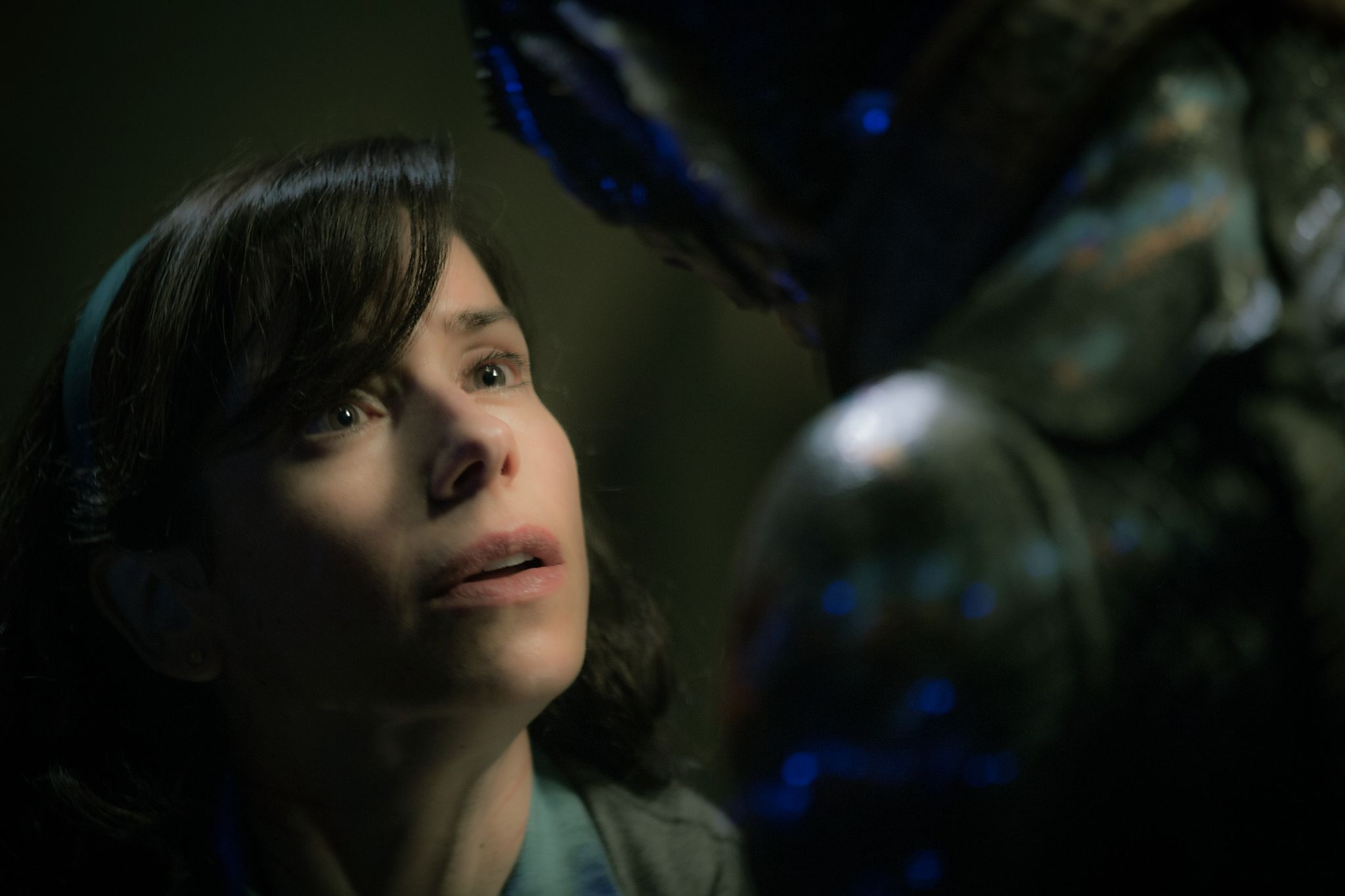 Sally Hawkins and Doug Jones in <i>The Shape of Water</i>.