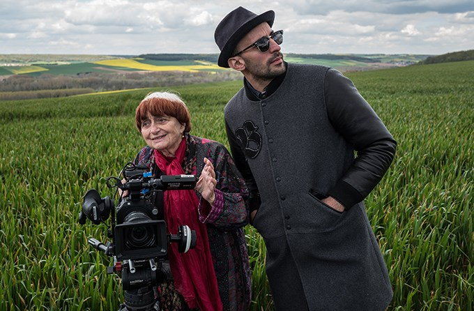 Agnes Varda and JR in Faces Places