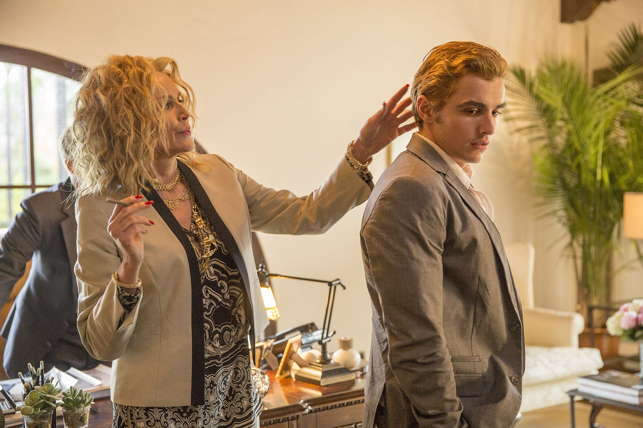 Sharon Stone and Dave Franco