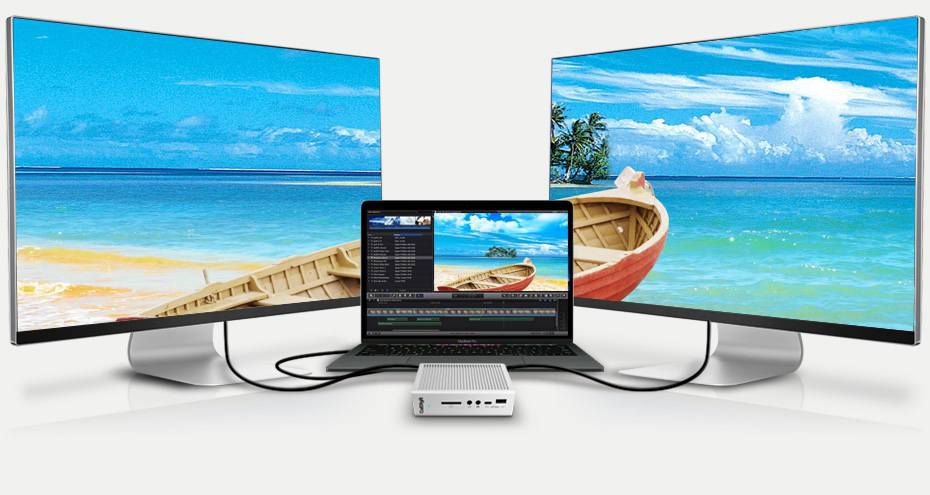 Dual 4K monitor support