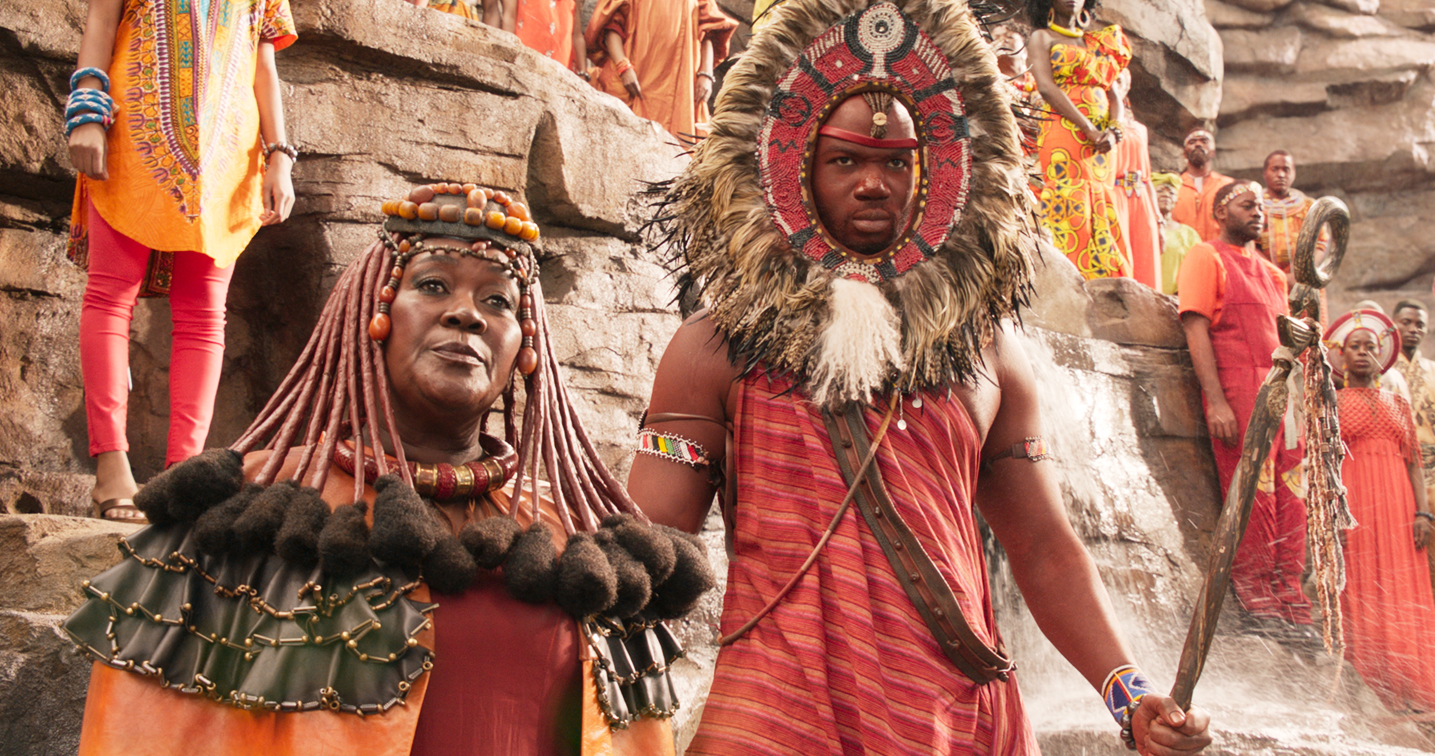 Mining Tribe Elder (Connie Chiume) in <i>Black Panther</i>