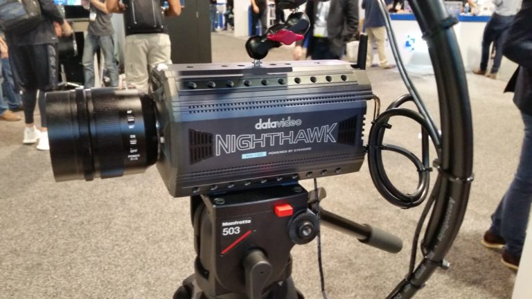 Datavideo NH-100 Nighthawk Ultra low light box camera.
