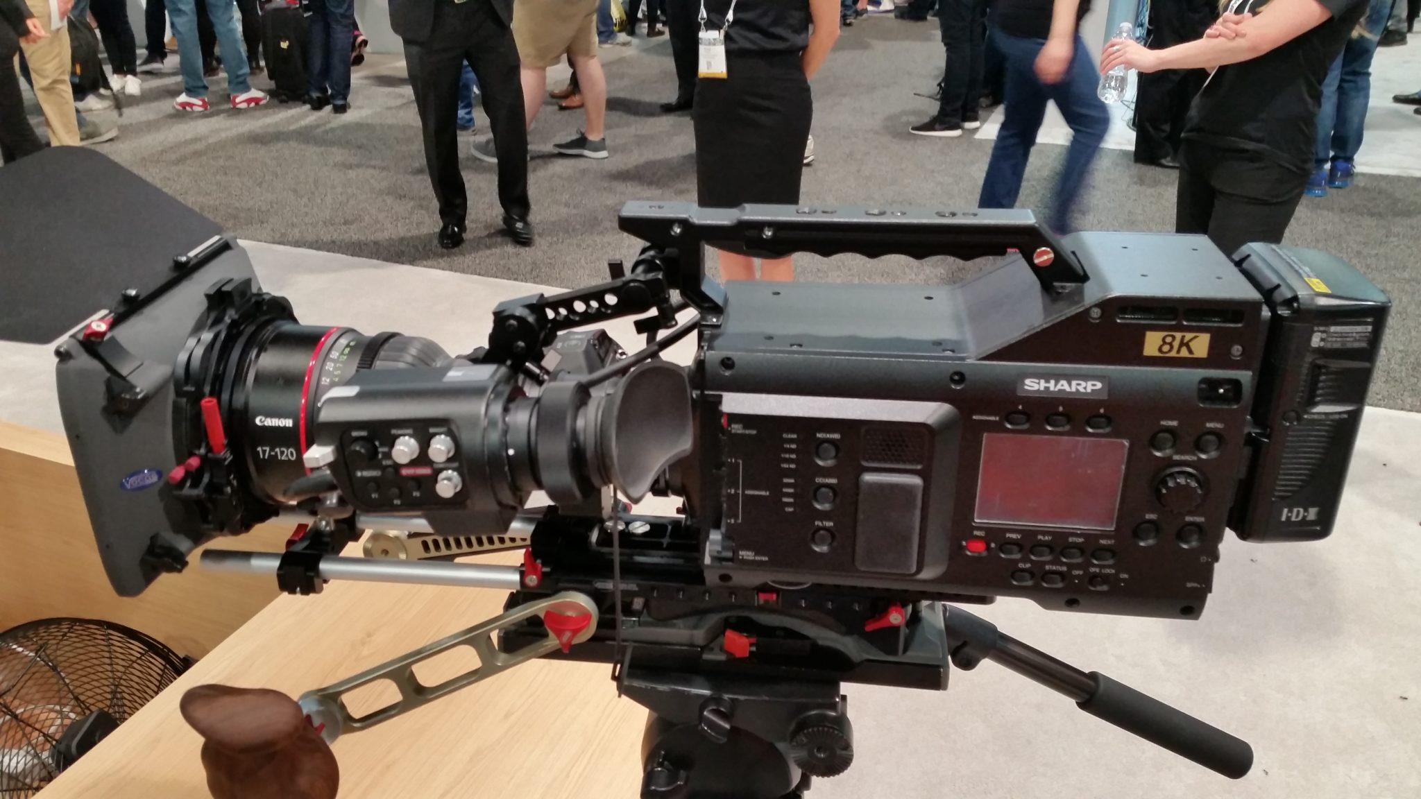 Sharp Electronics 8K-B60A Production Camcorder