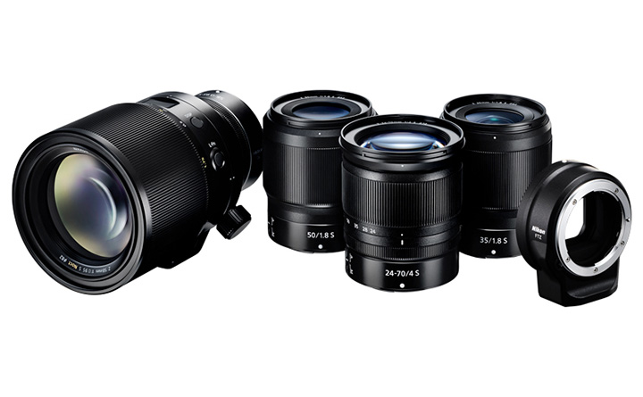 Nikon Z-Mount lenses
