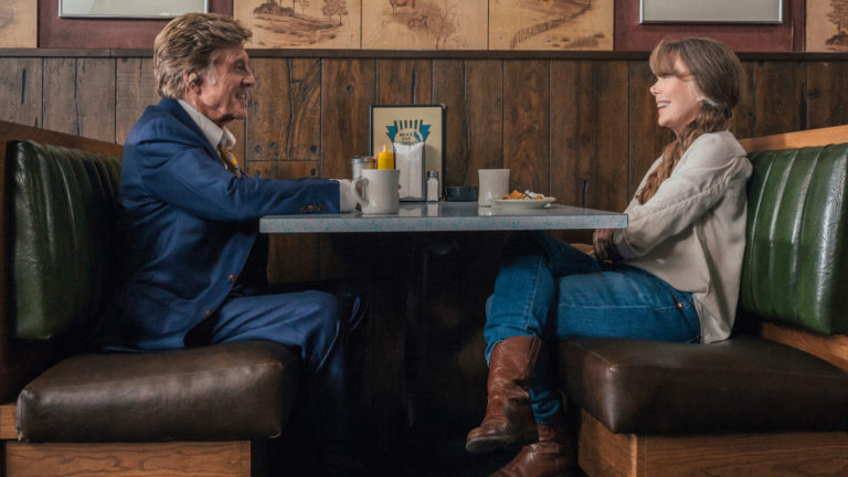 robert redford and sissy spacek in the old man & the gun