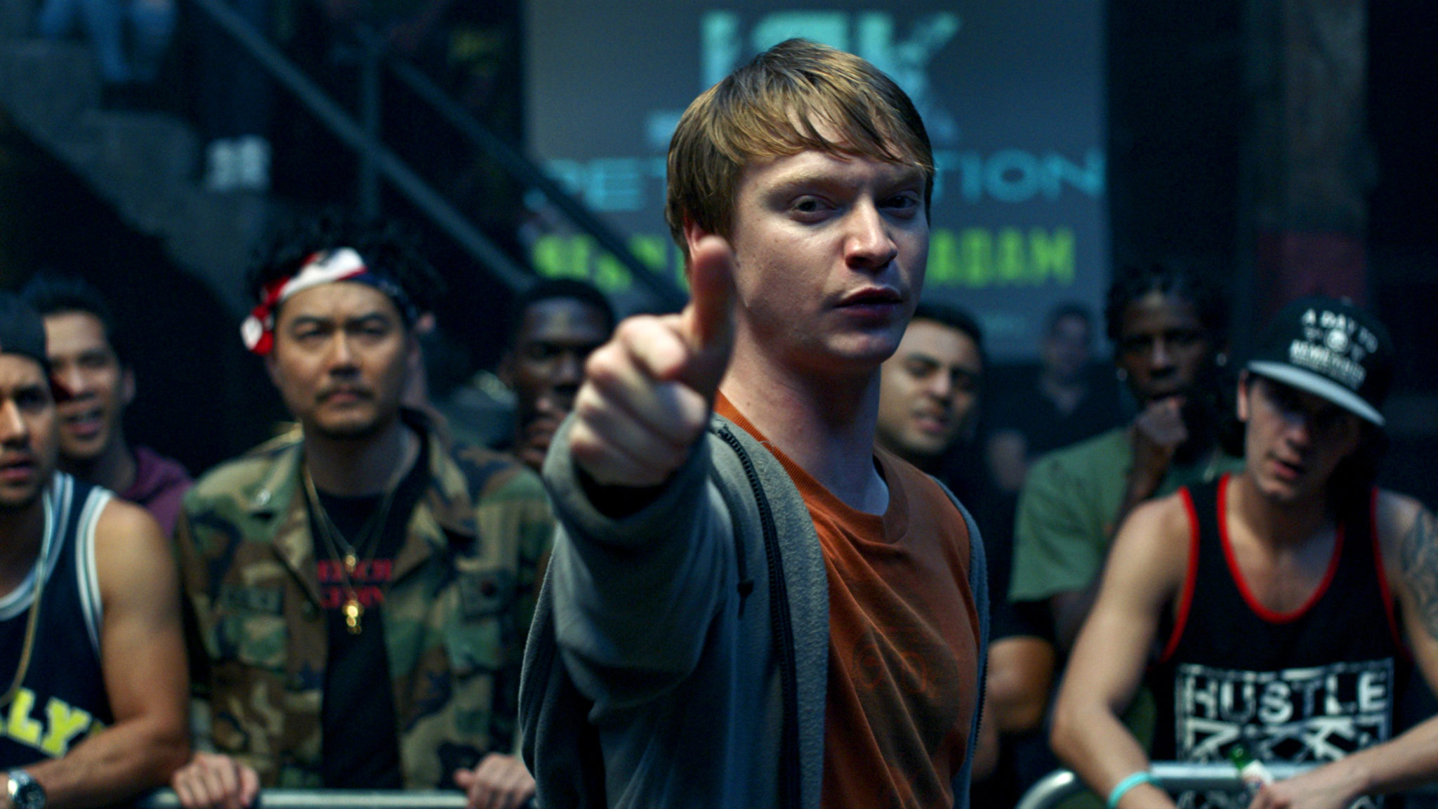 Calum Worthy in Bodied.
