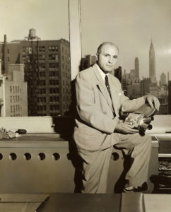 Jacques Bolsey in New York City in the late 1950s