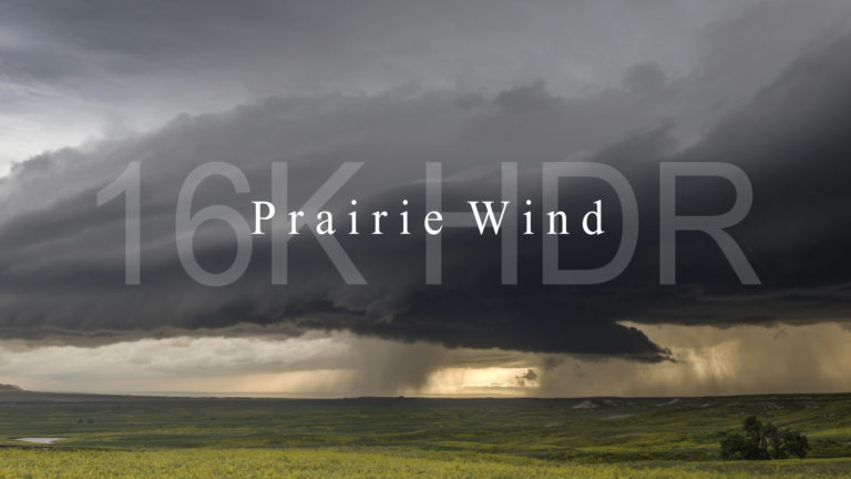 """Prairie Wind"" in 16K"