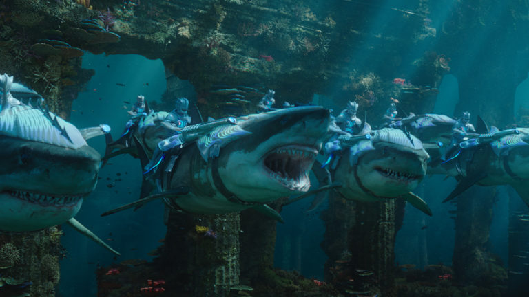 A scene from Aquaman