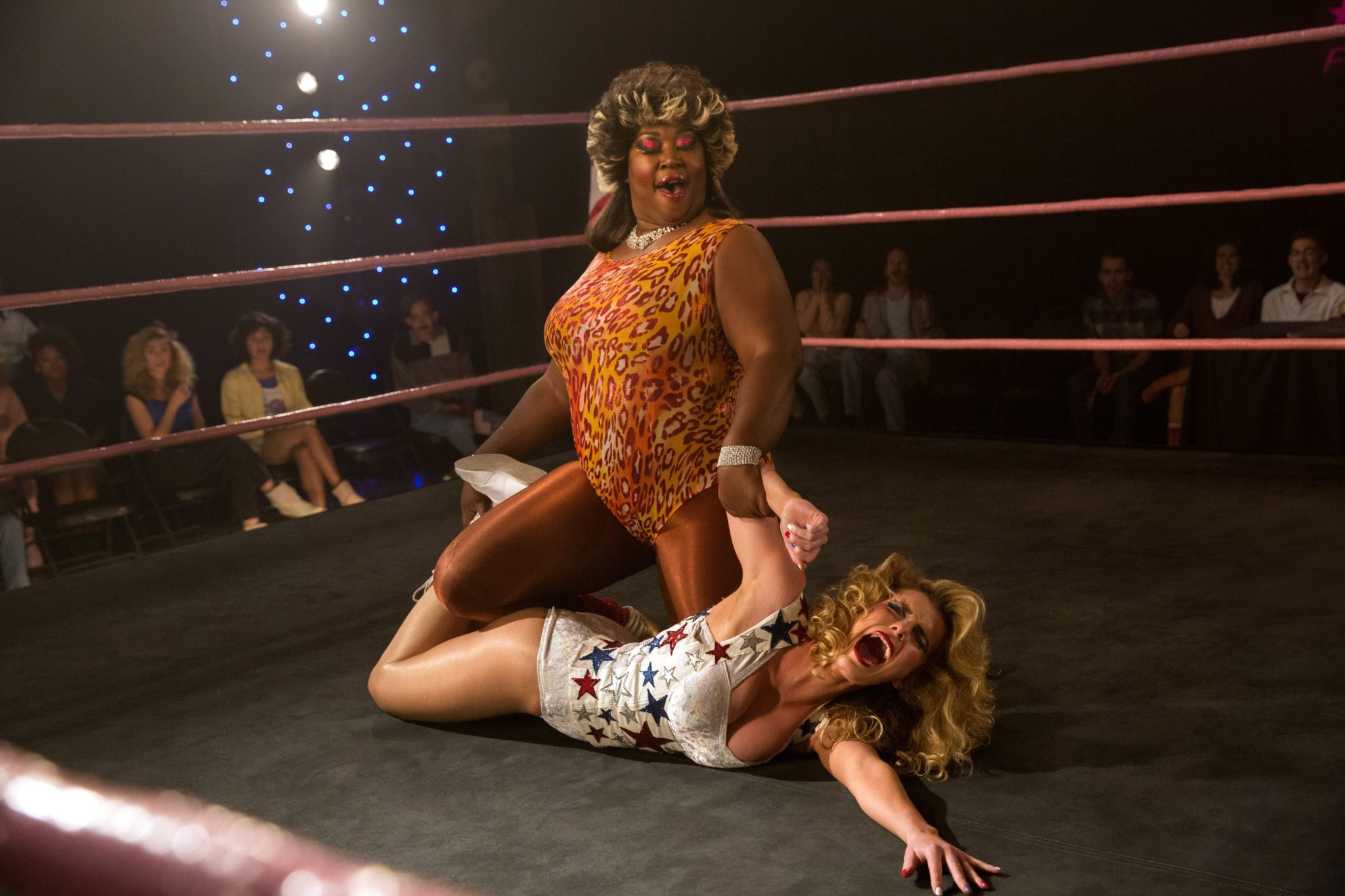 A shot from season two of <i>GLOW</i>
