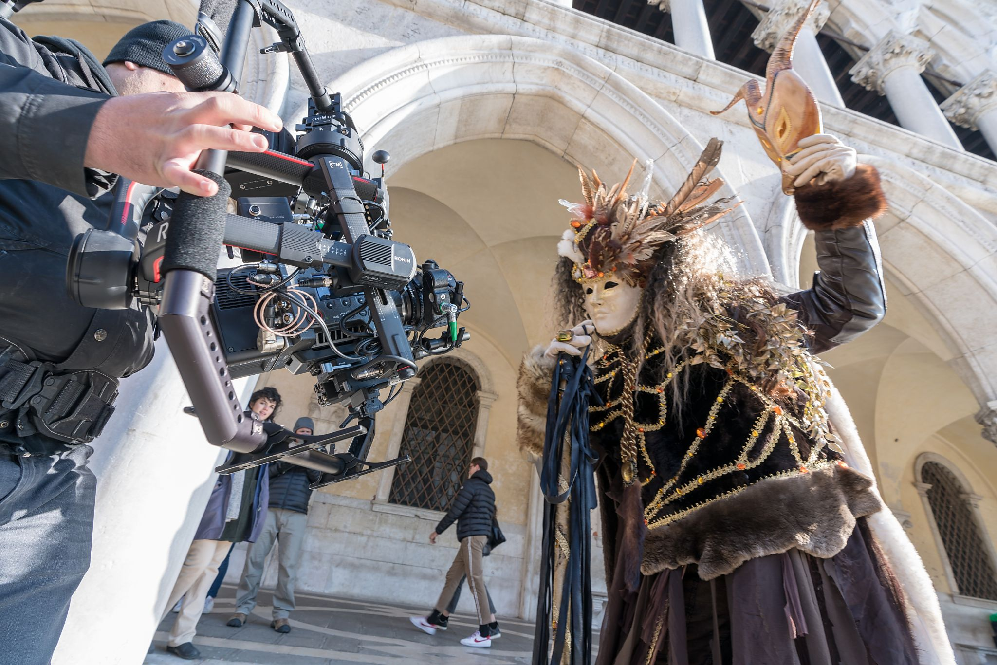 Shooting Carnival in Venice