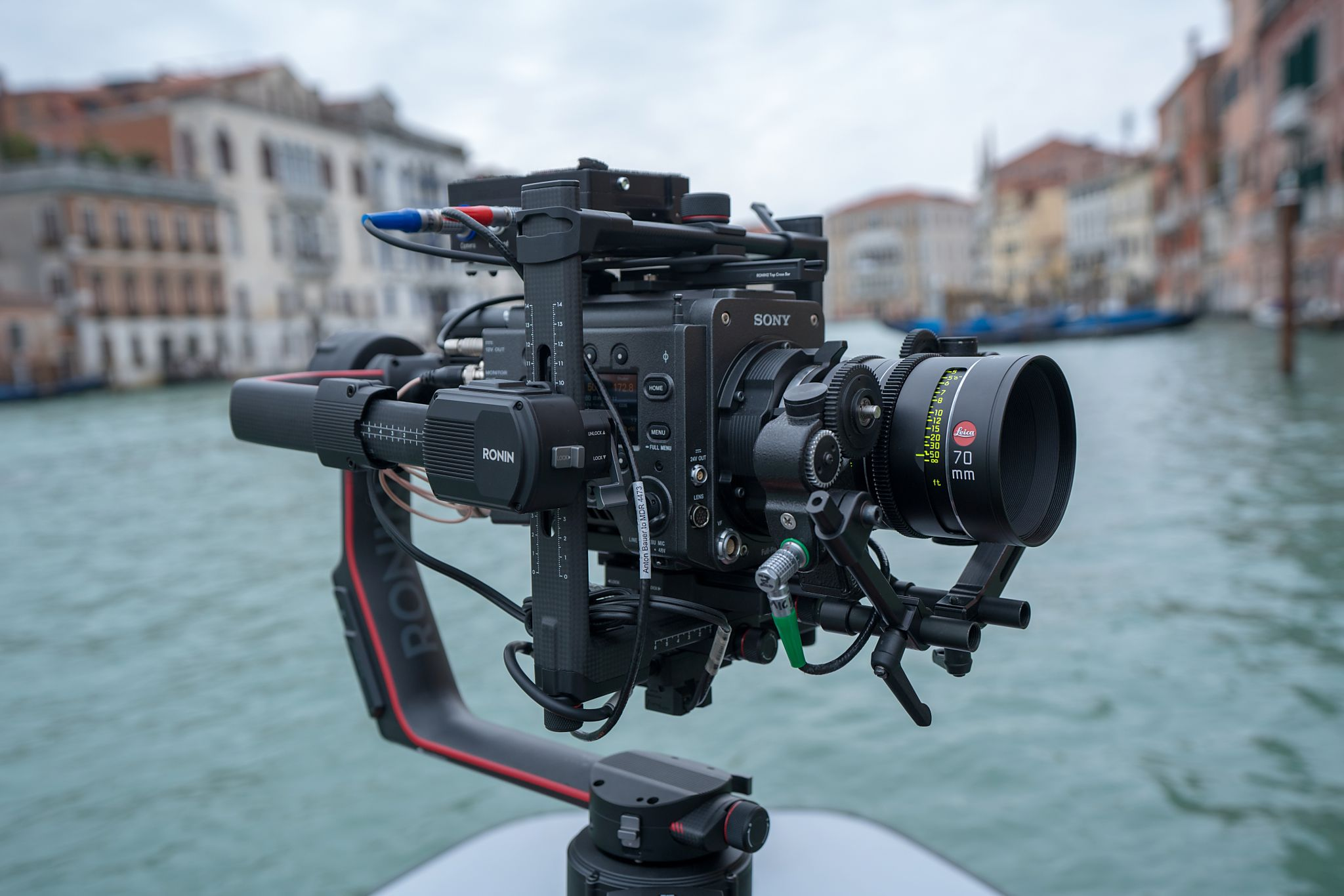 Leica Thalia 70mm prime lens on the Venice