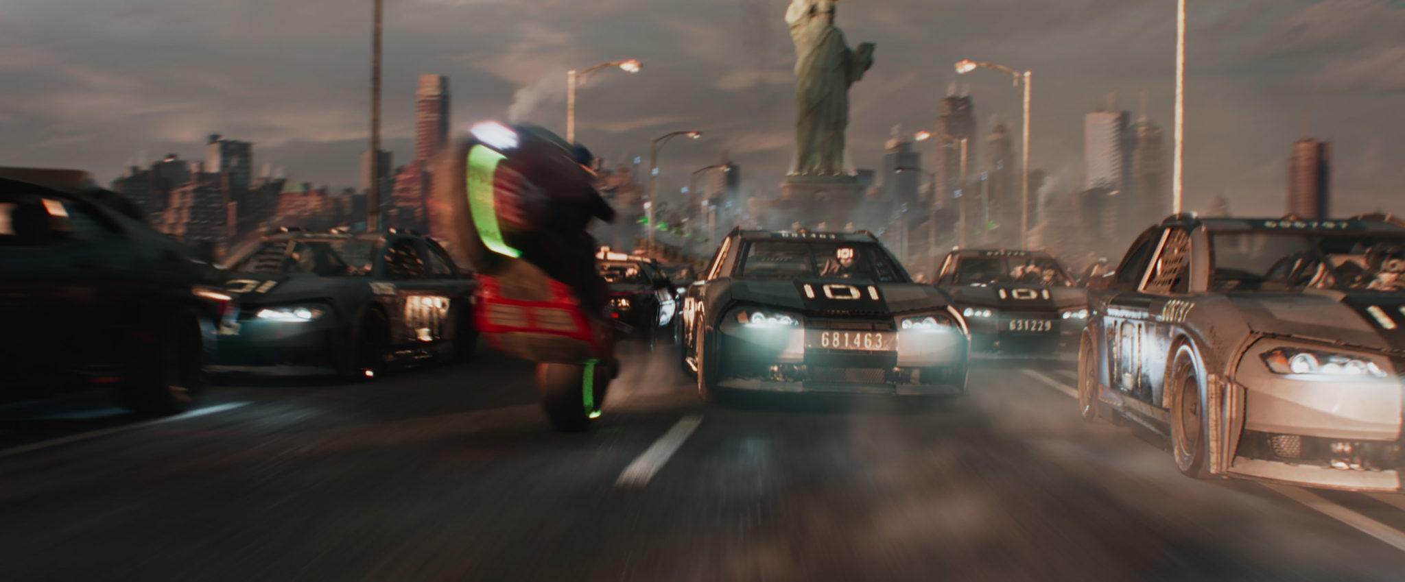 <i>Ready Player One</i>'s New York race