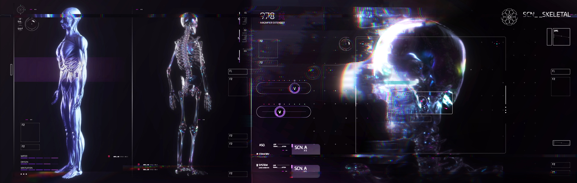 Screen designs for the Nightflyer