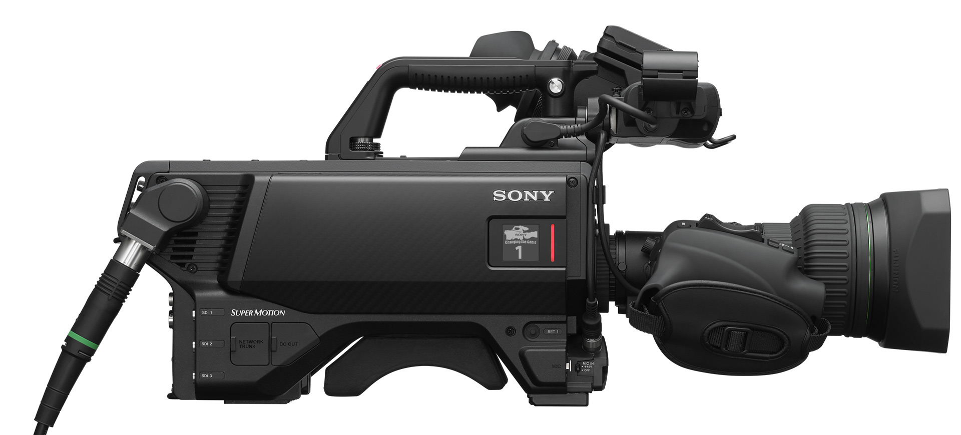 Sony HDC-5500 side view