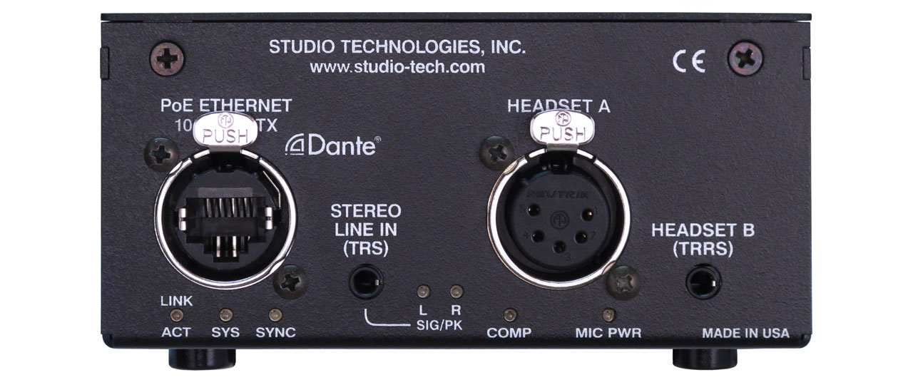 Studio Technologies Model 207 Audio Interface