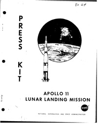 Apollo 11 Lunar Landing Mission Press Kit