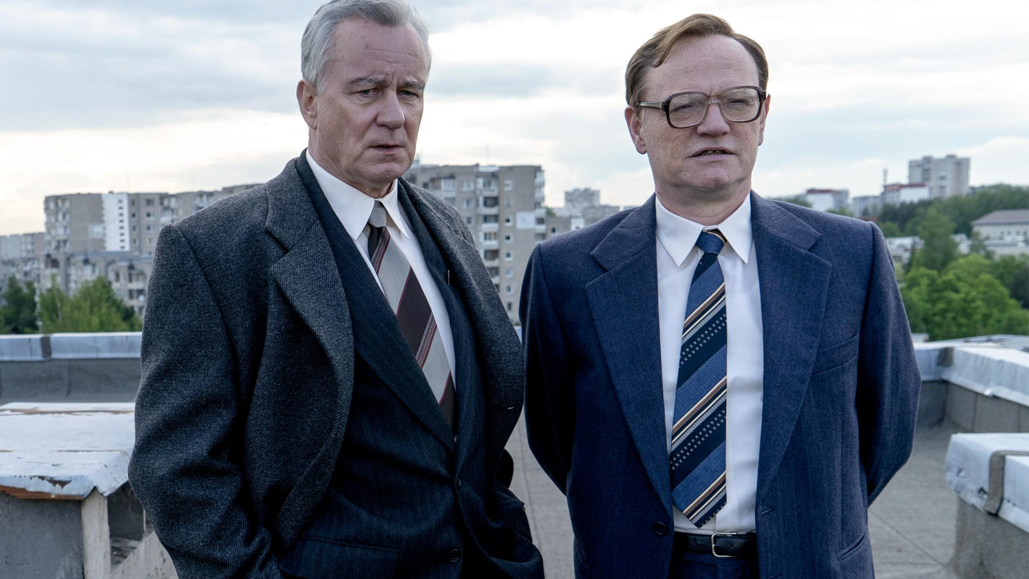 Stellan Skarsgård and Jared Harris