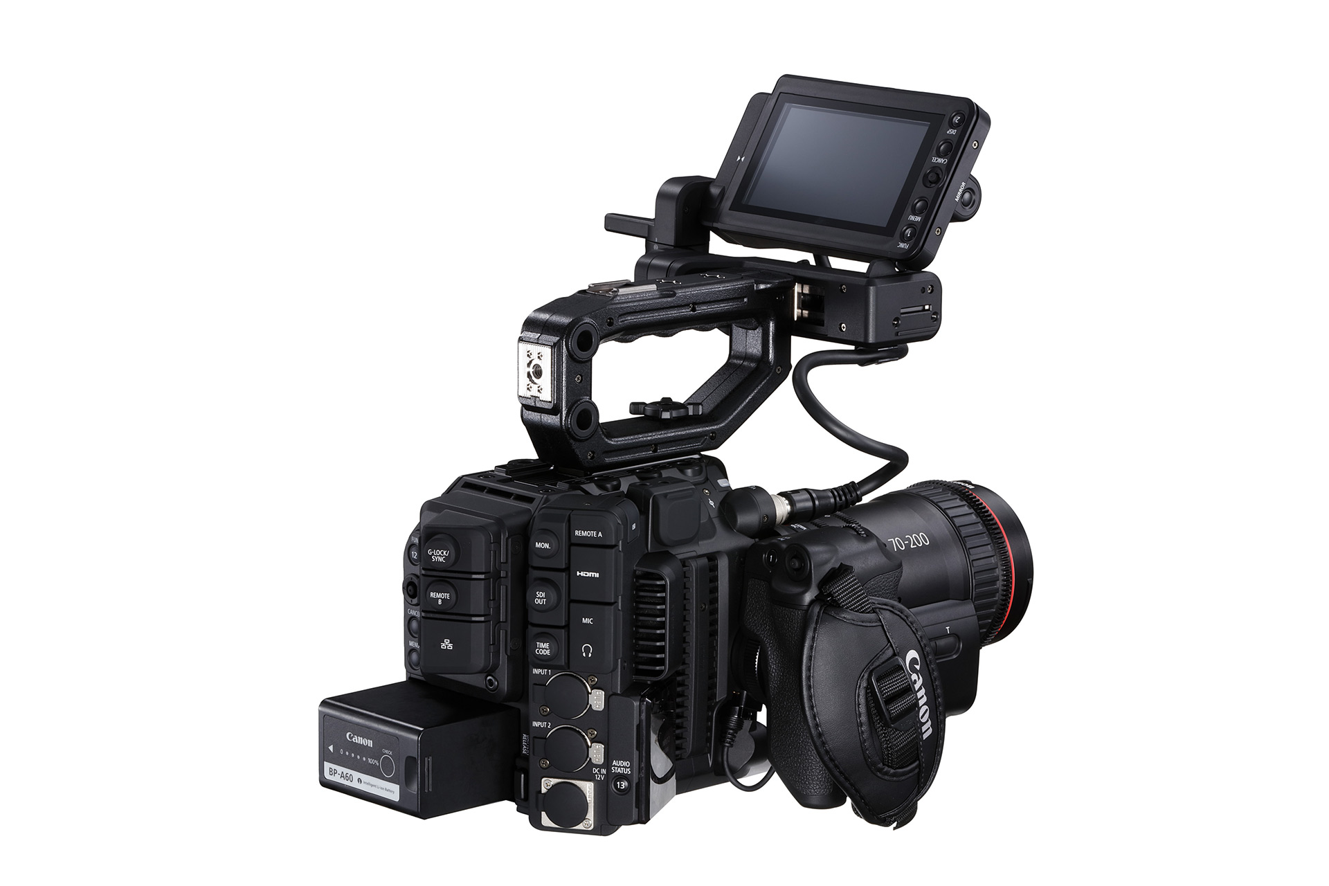 Canon C500 Mark II with EU-V1