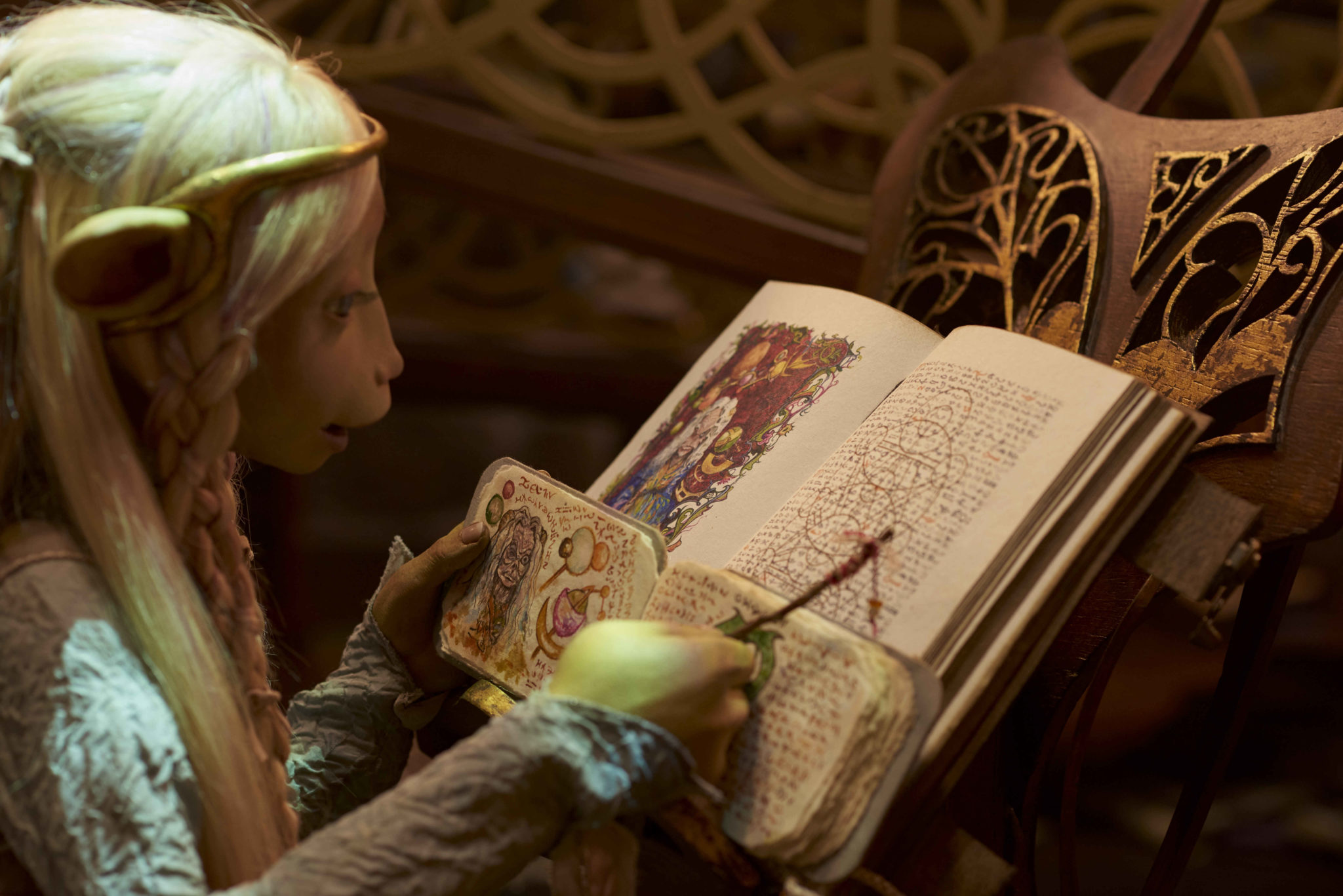 A scene from The Dark Crystal: Age of Resistance episode 1