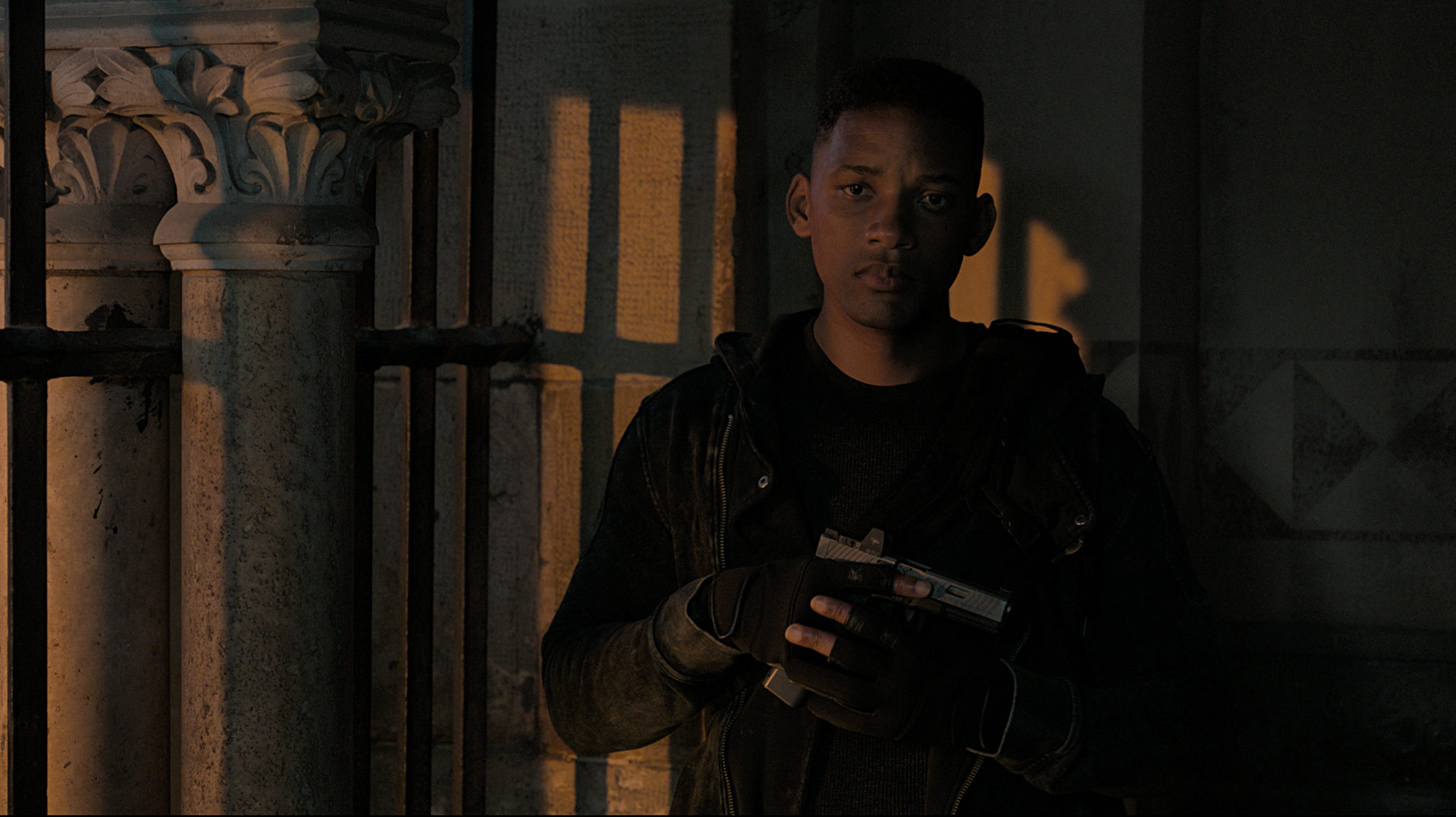 "Will Smith as ""Junior"" in <i>Gemini Man</i>"