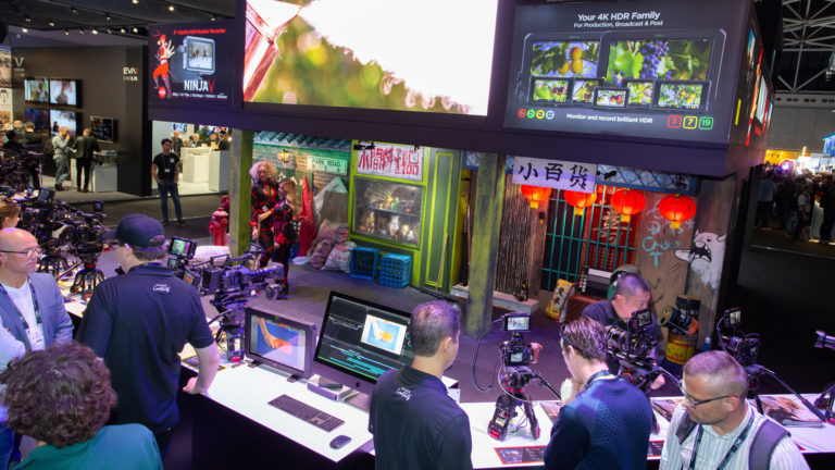 Panasonic IBC2019 booth