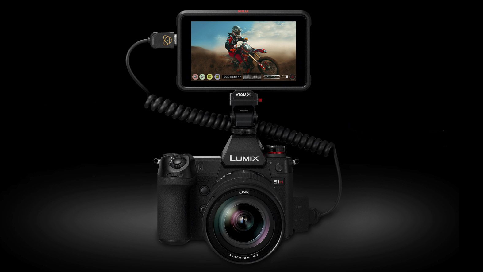 Panasonic Lumix S1H and Atomos Ninja V