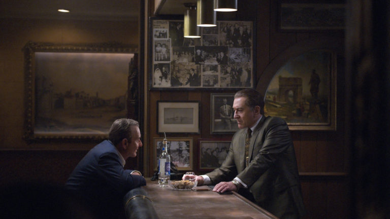 Joe Pesci and Robert De Niro in The Irishman