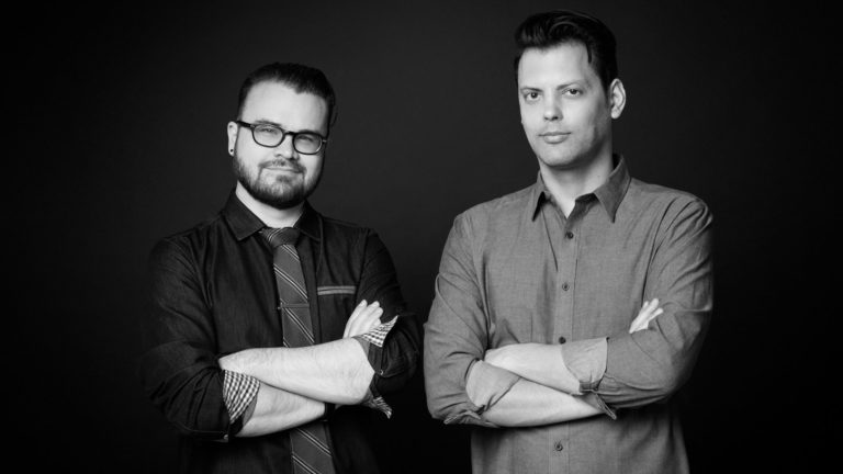 Michael Cioni and Emery Wells of Frame.io