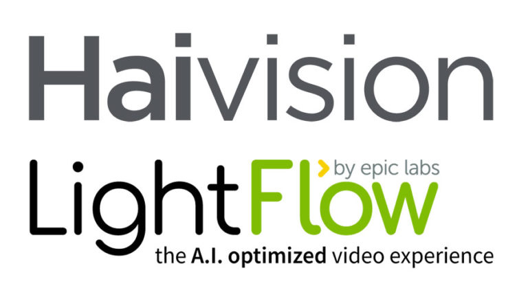 Haivision and LightFlow logos