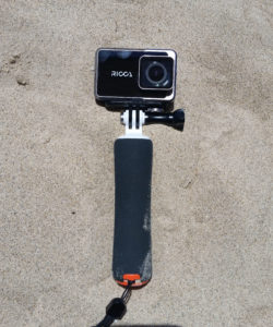 FeiyuTech Ricca on a GoPro hand grip