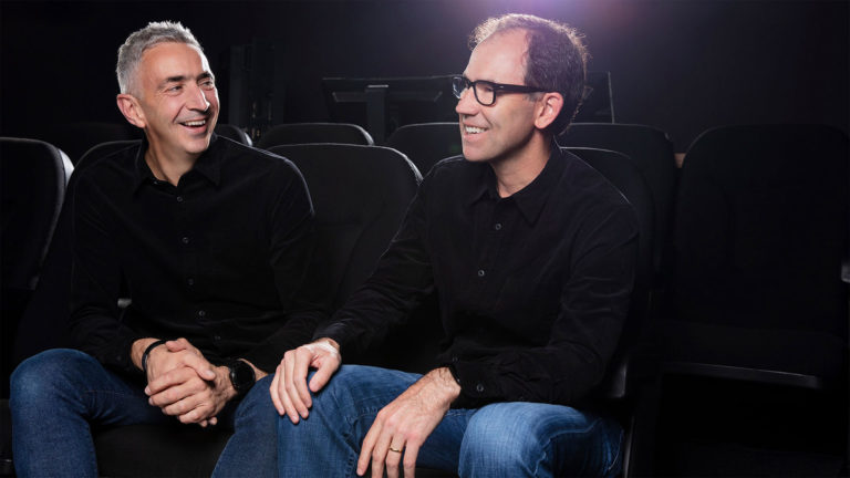 Marc Dando, Chief Design Officer, X2X (left), and Eric Dachs, CEO, X2X.