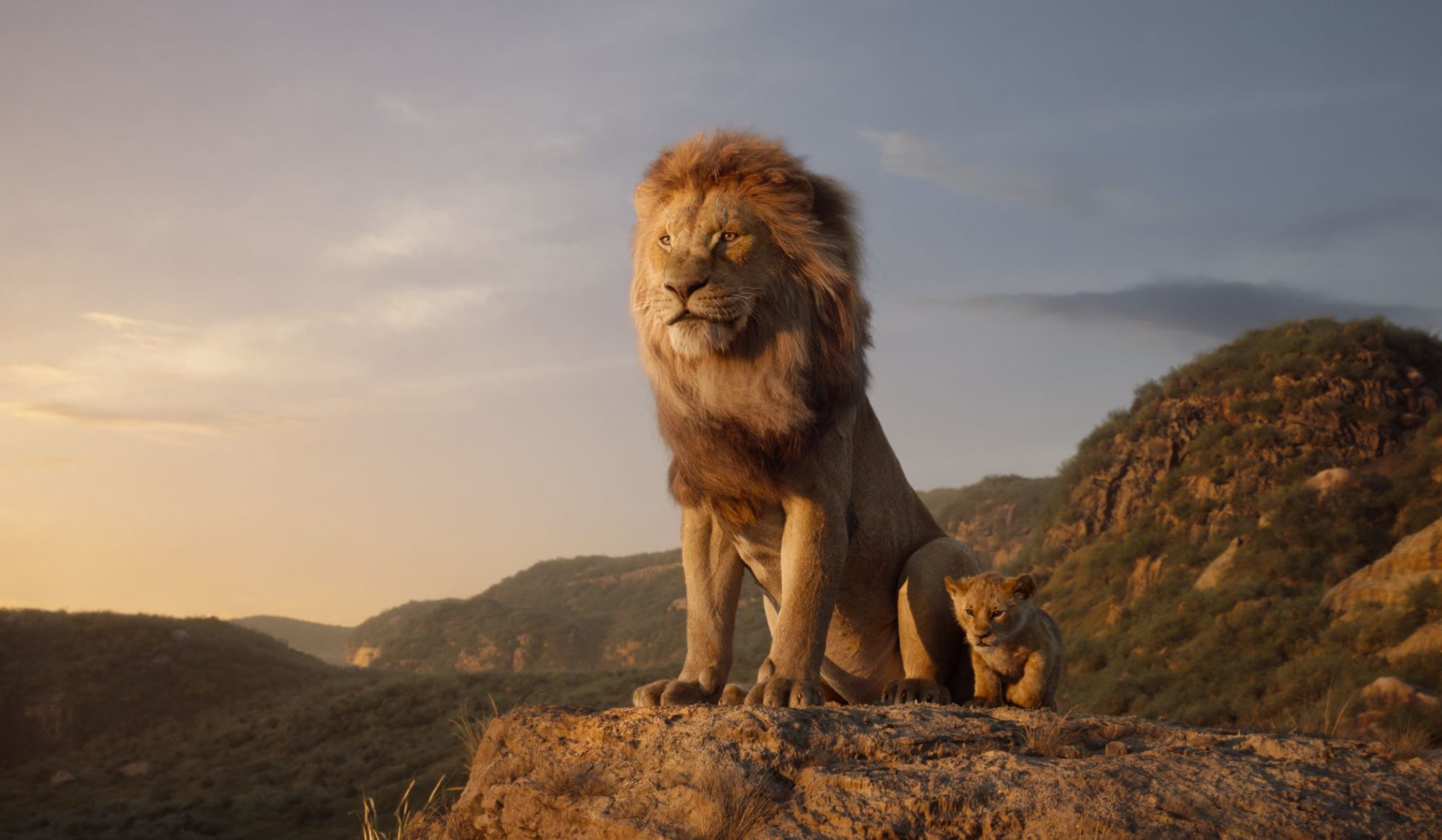 Still from Disney's The Lion King