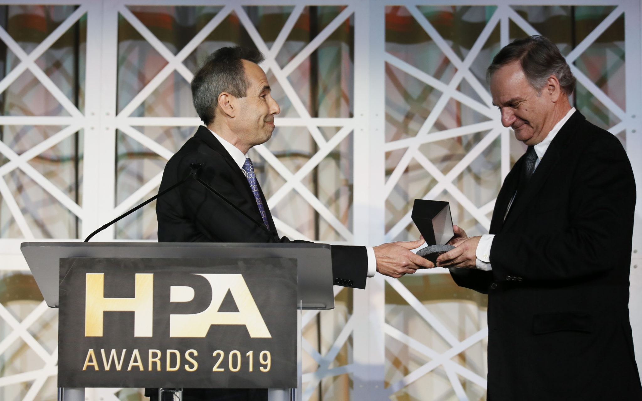 Robert Legato, ASC, receives the HPA's Lifetime Achievement Award.