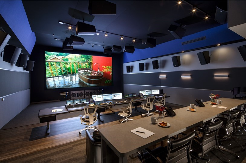 Signature Post's Dolby Atmos theatrical mix stage